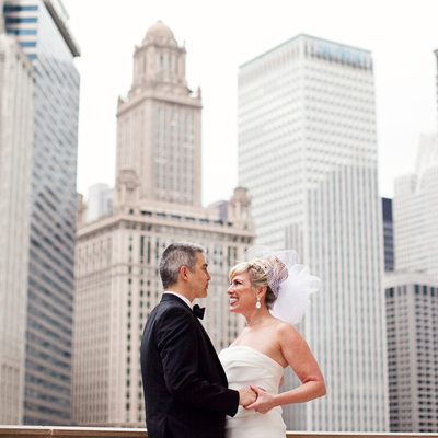 Downtown Chicago Wedding Photos