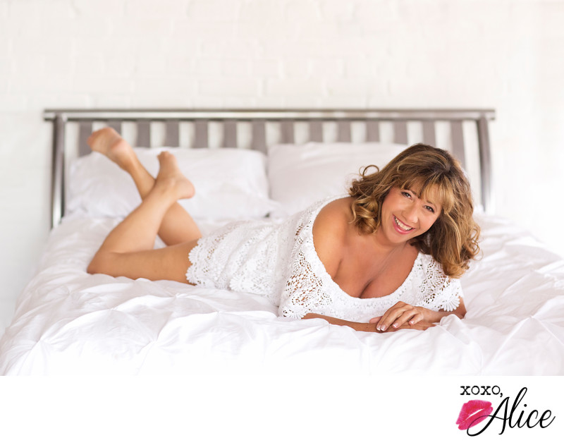 best boudoir photographer in st louis women over 50