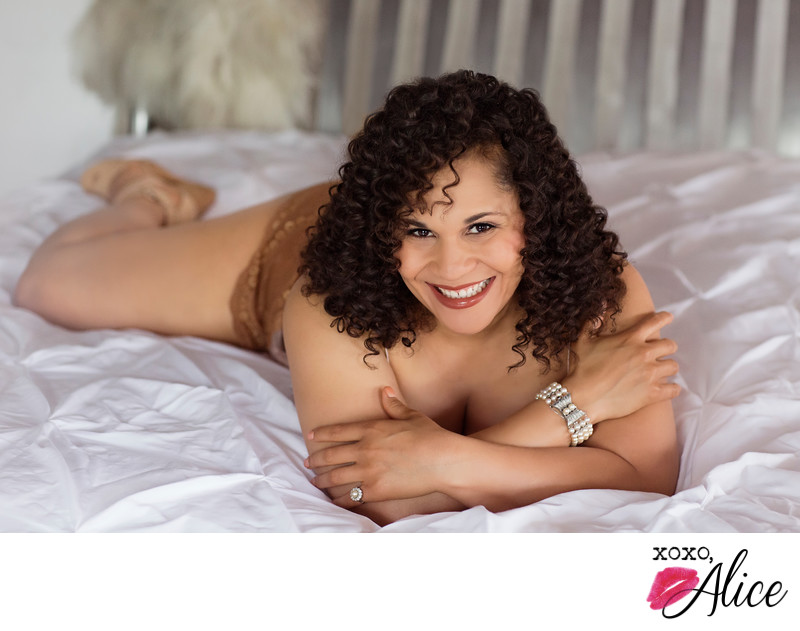 plus size photos for boudoir and glamour