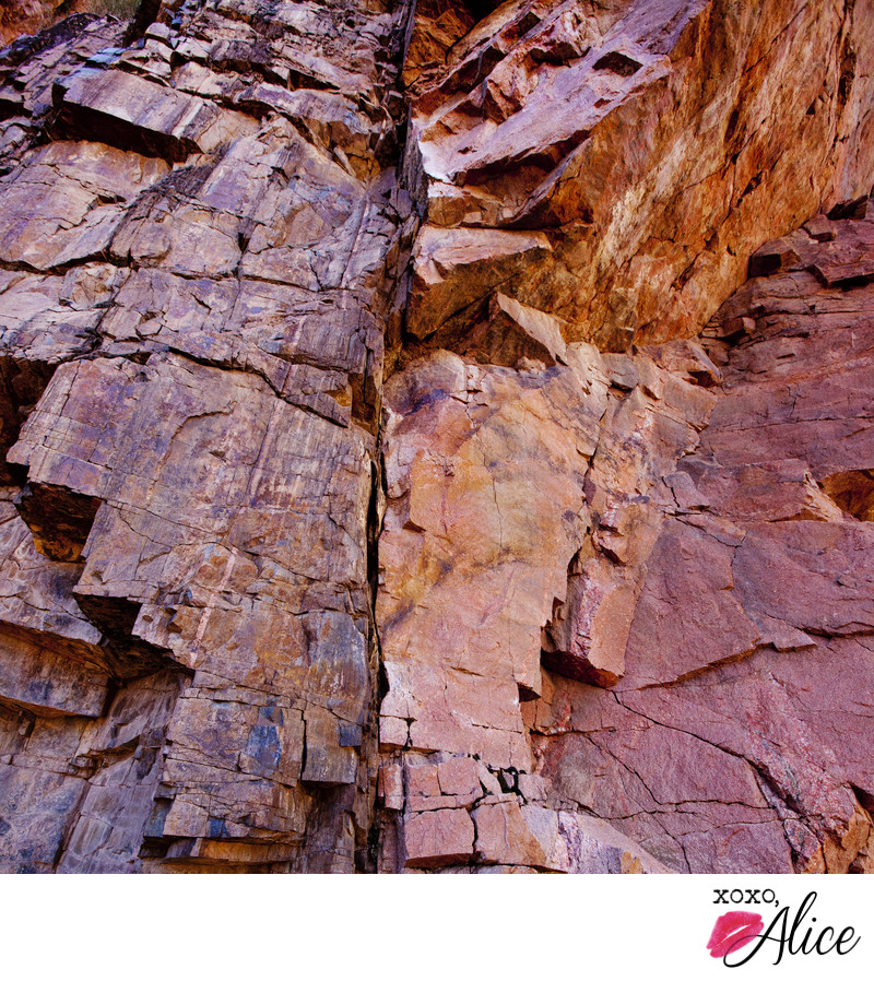 Grand Canyon geology landscape macro photography