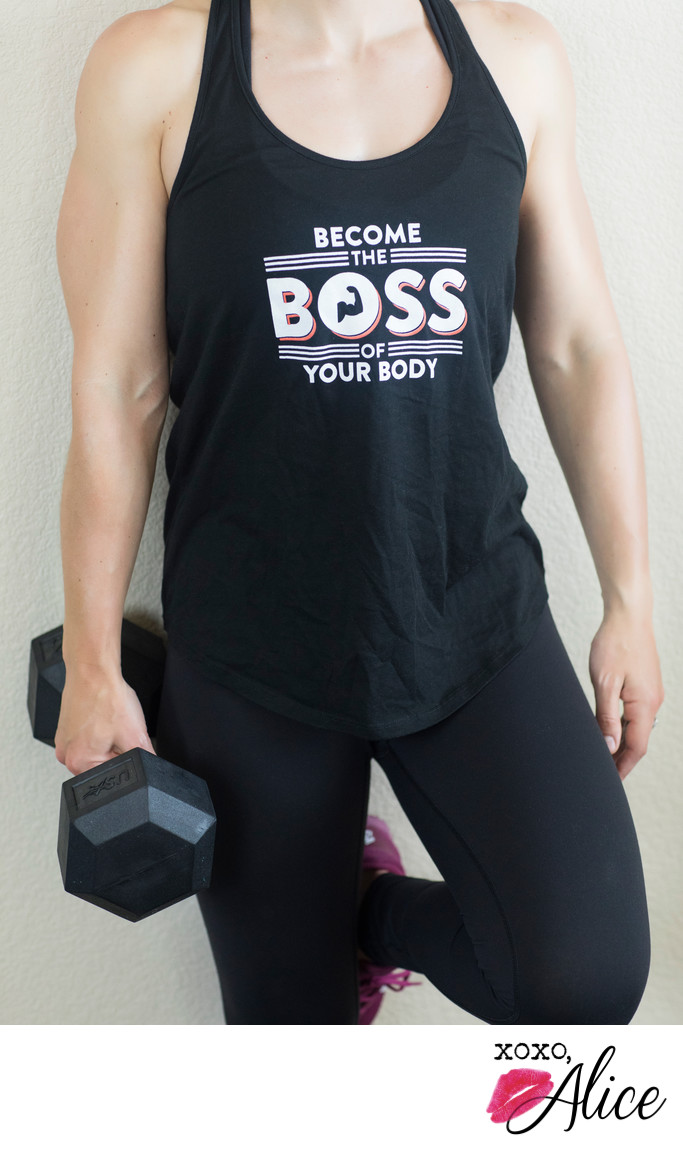 become the boss of your body portraits by alecia hoyt