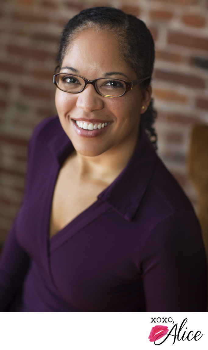 best professional headshots black professional woman