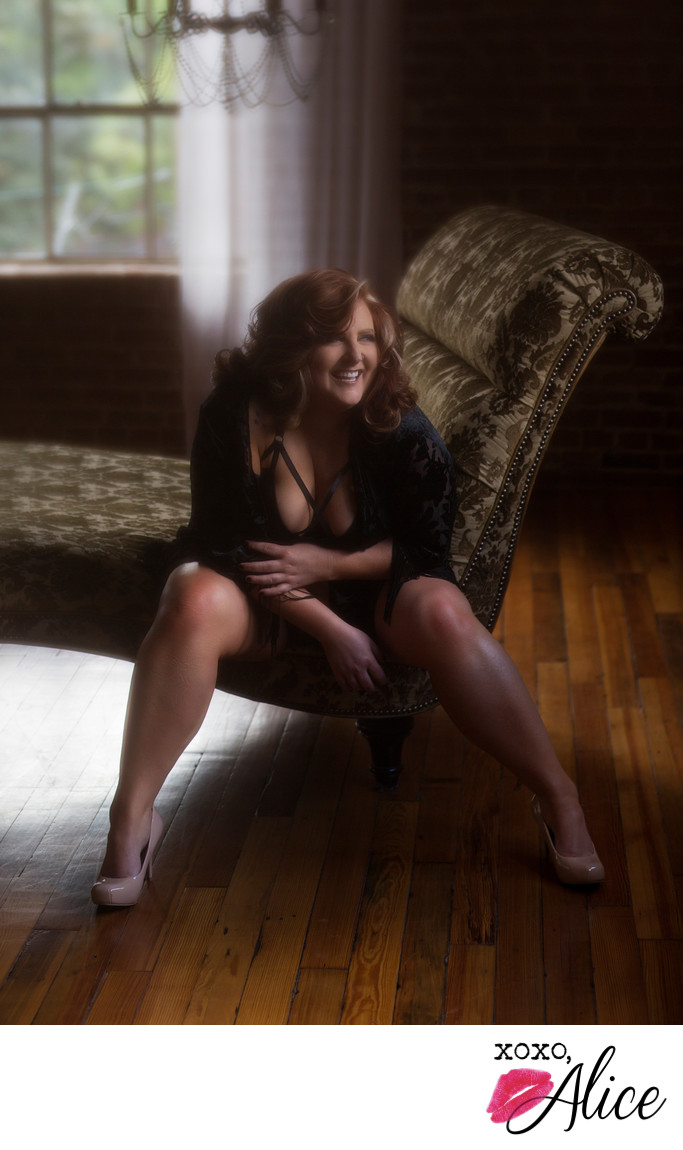 plus sized sexy photography with Torrid lingerie