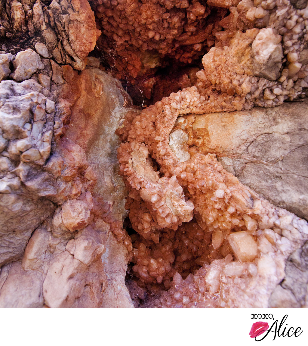 geode in the grand canyon landscape photography red roc