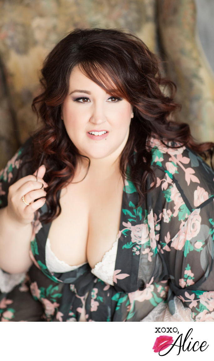 plus sized saint louis missouri boudoir gorgeous