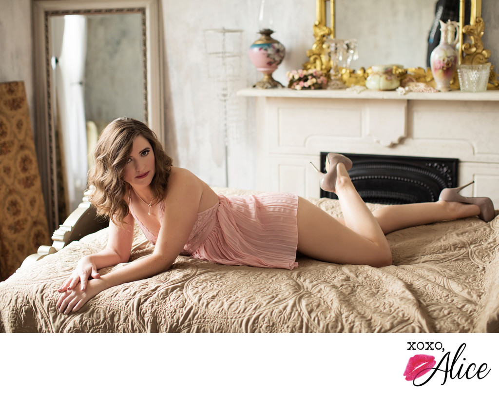 romantic seductive st louis photographer boudoir photos
