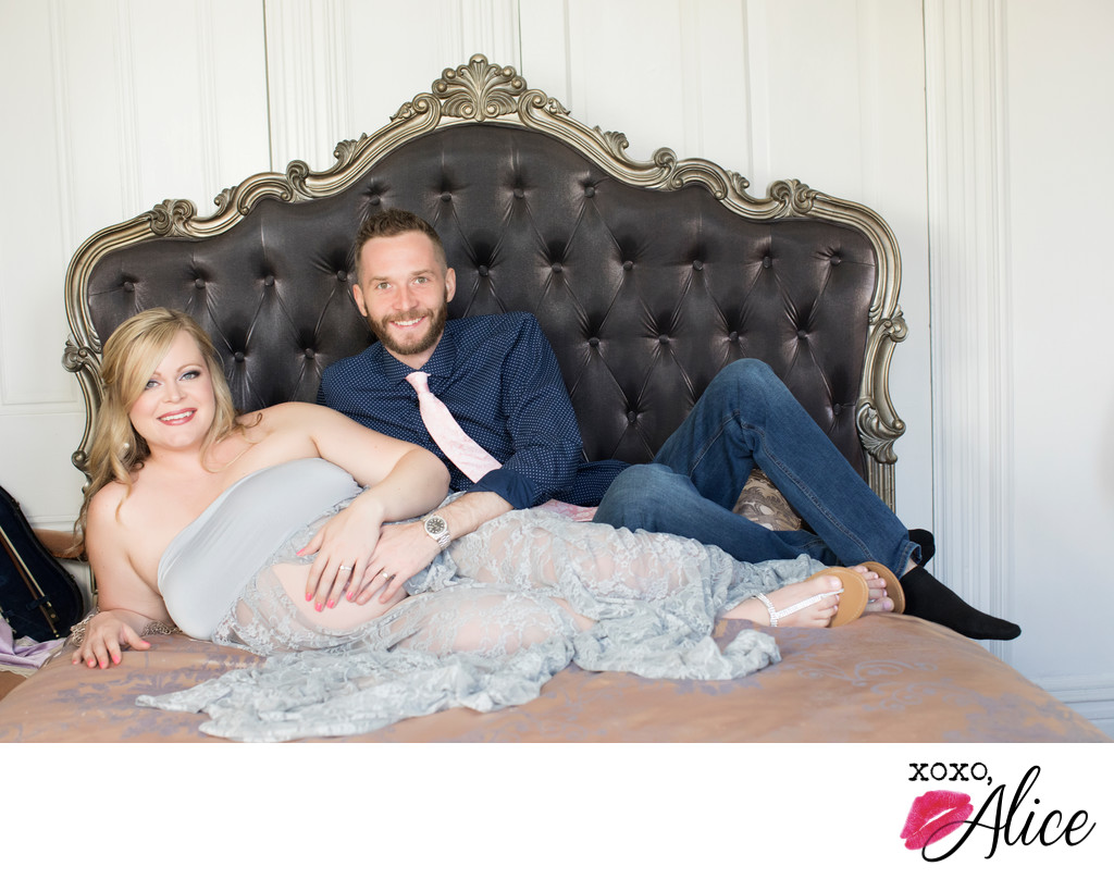 loving maternity portraits for expecting parents mo