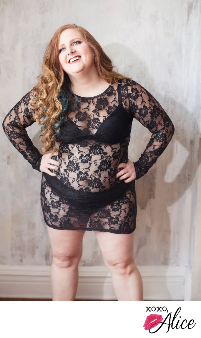 Gorgeous sexy lace pieces for clients of all sizes