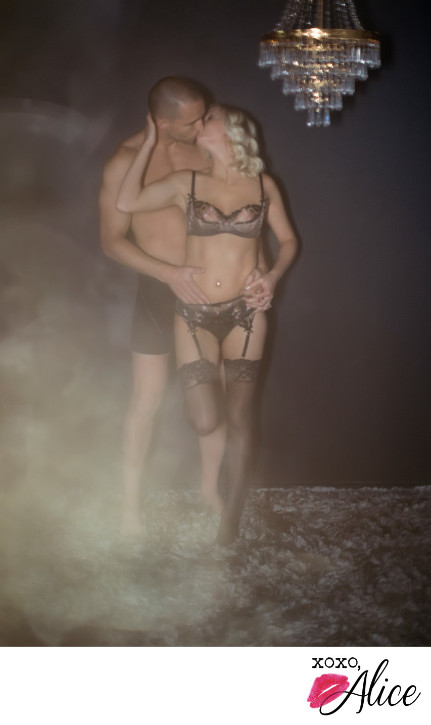 gorgeous light couples boudoir in st louis sexy love