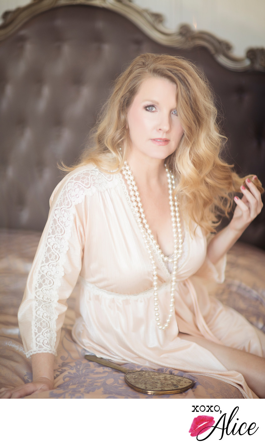 boudoir photography women all ages glamorous