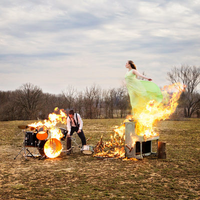 best album art ellen the felon piano on fire photograph