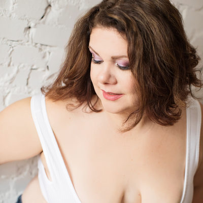 body positive tiger stripes boudoir sexy saint louis