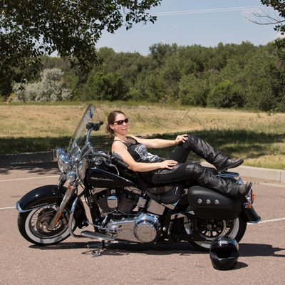 strong women ride motorcycles portraits for your biz