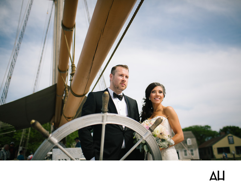 Mystic Seaport Wedding Photos