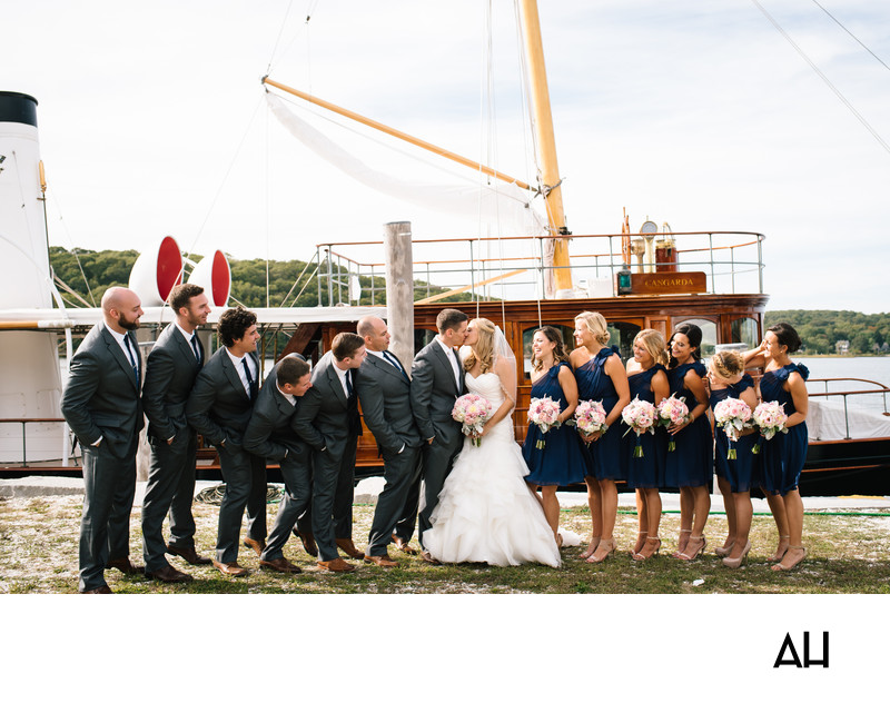 Wedding Photos Mystic Seaport