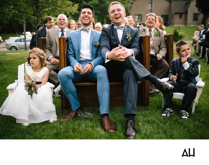 Same Sex Wedding Photography in Fairfield County