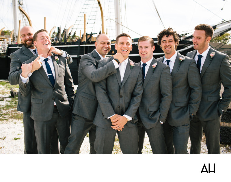 Mystic Seaport Wedding Pictures