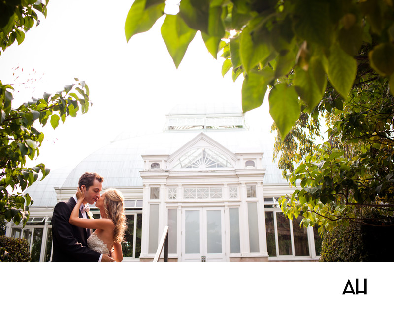 New York Botanical Gardens Wedding Pictures