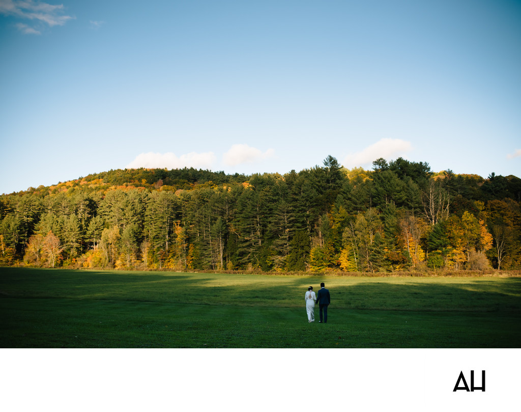 Outdoor Wedding in Vermont