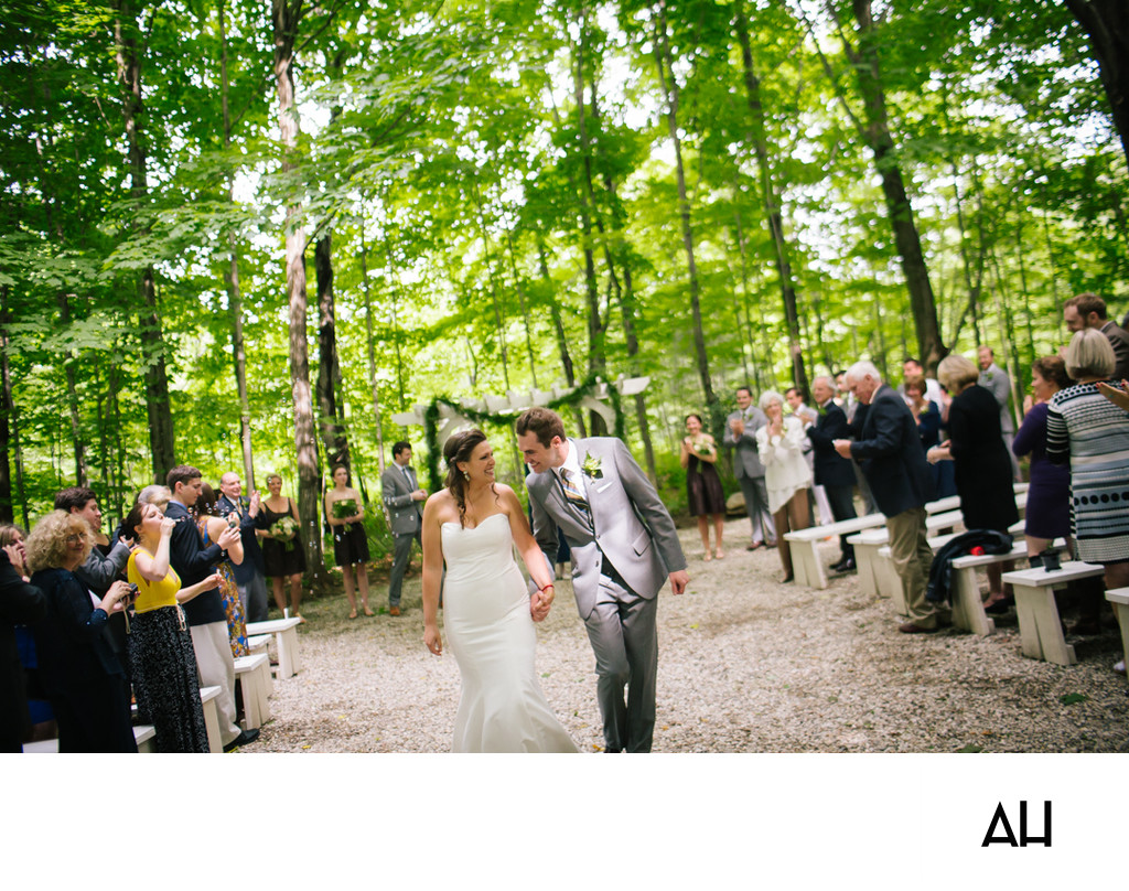 Rustic Weddings in Maine