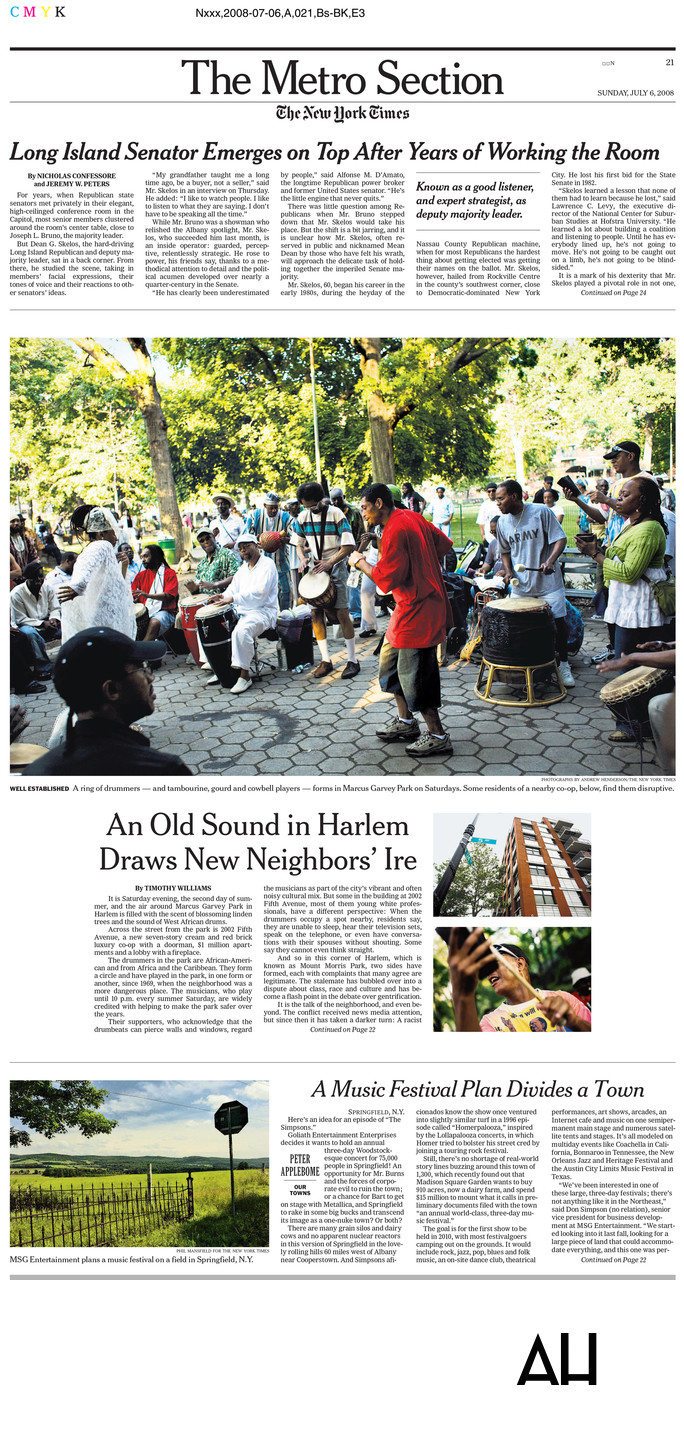 NY Times Harlem Pictures