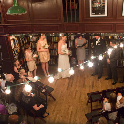 Housing Works Bookstore Wedding Pictures