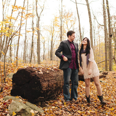 Engagement Photos in Fairfield County