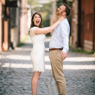 Hoboken Engagement Photos