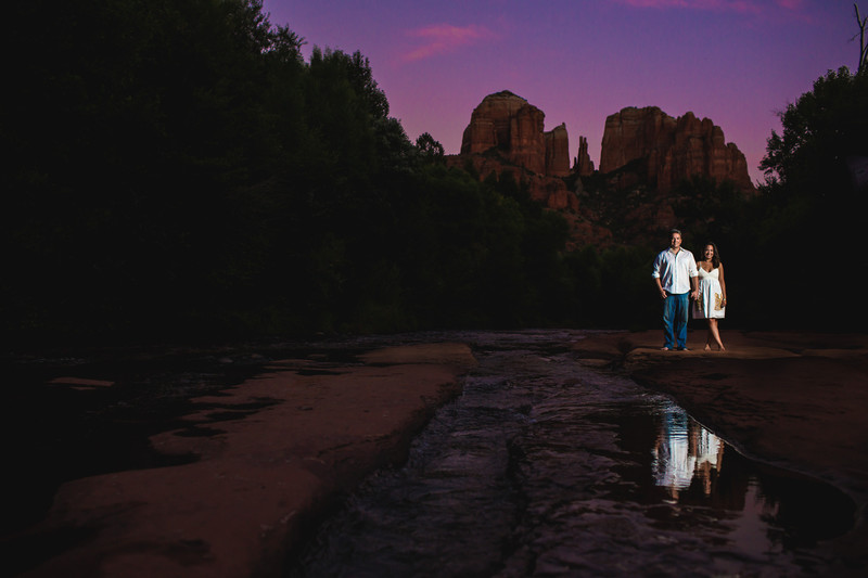 Engagement Photos in Sedona Arizona - Destination Wedding Photography - Ben and Kelly Photography