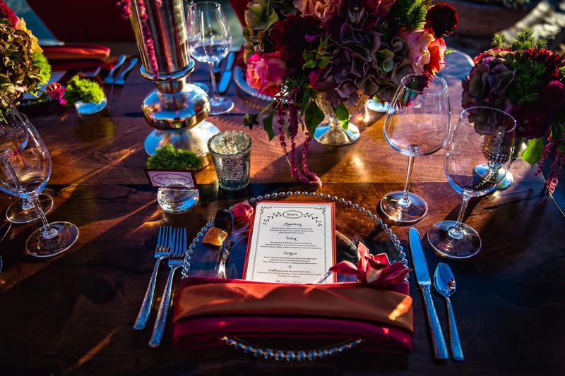 Different Pointe Of View Wedding Reception Phoenix Wedding