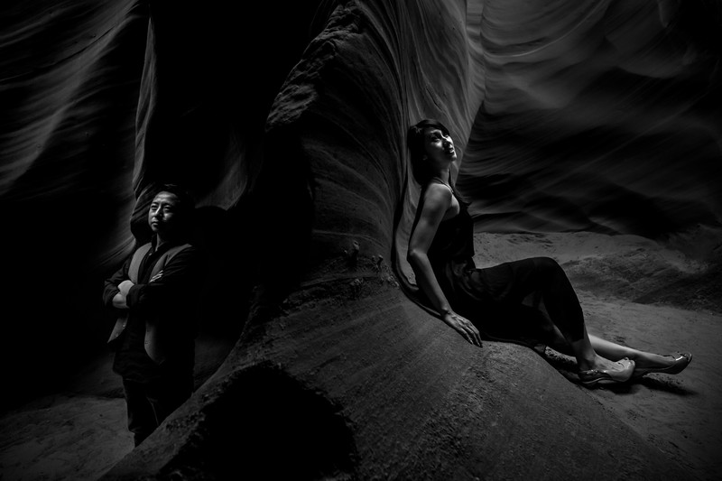 Horseshoe Bend Antelope Canyon Engagement Photos
