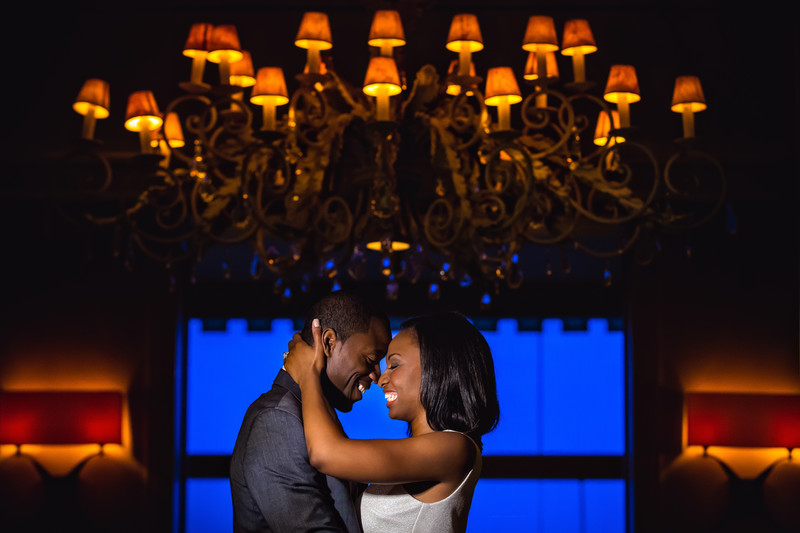 Engagement Photos at The Camby Hotel in Phoenix