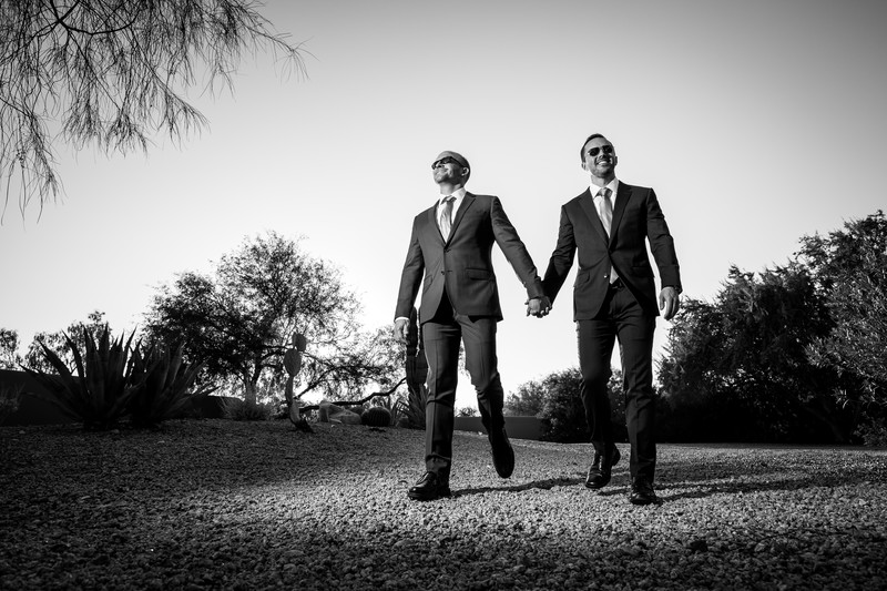 Gay wedding photographer in Phoenix Arizona