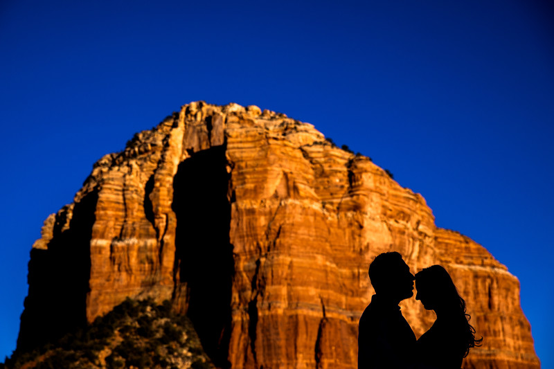 Bell Rock Sedona engagement photos