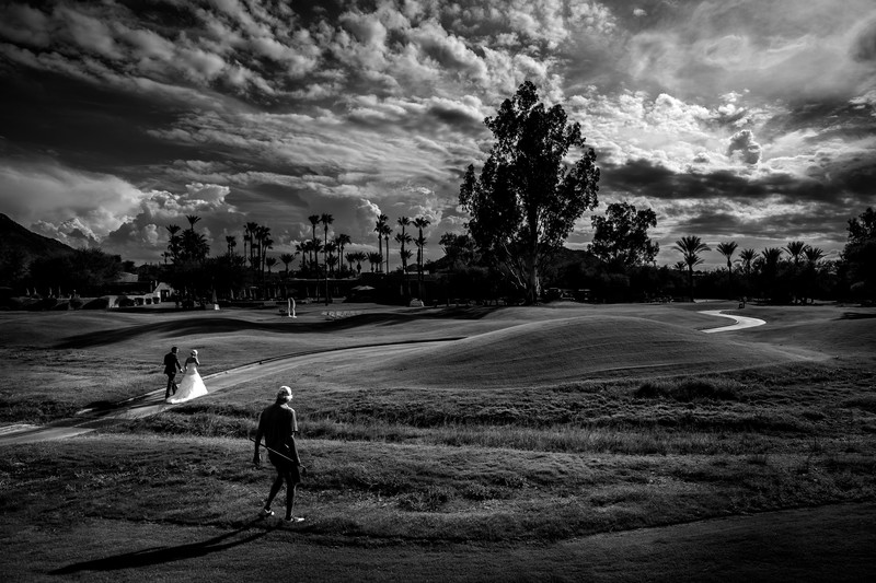 Golf Course Weddings in Arizona - Ben & Kelly Photography