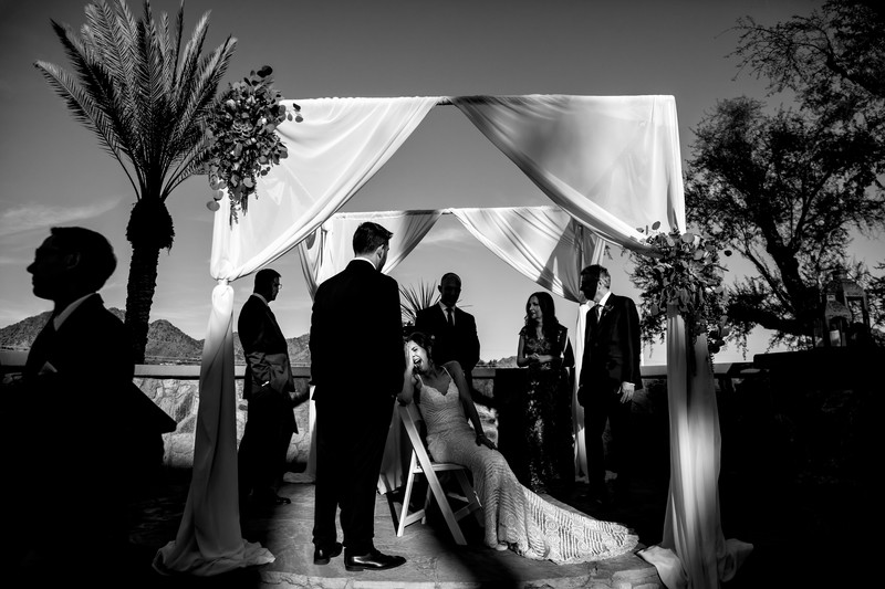 Funny Wedding Photos - Jewish wedding in Phoenix