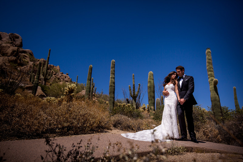 Four Seasons Wedding in Scottsdale Arizona