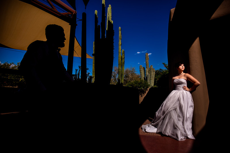Wedding in Cave Creek Arizona - Ben and Kelly