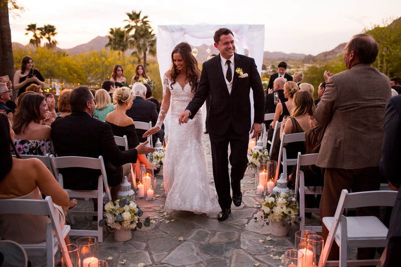 Luxury wedding at the Sanctuary Resort Scottsdale