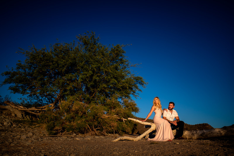 Sexy engagement photography in Phoenix