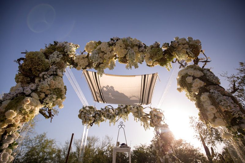 Luxury Chuppah Scottsdale Four Seasons