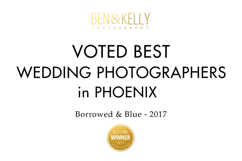 Best wedding photographers in Phoenix - Ben and Kelly