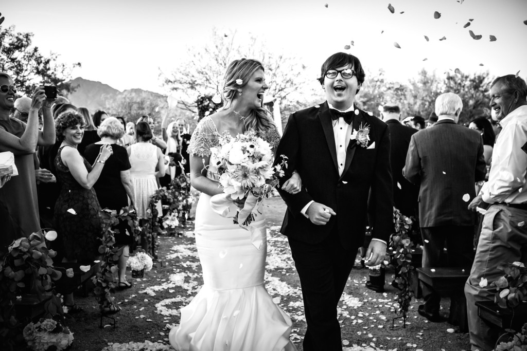 Desert Wedding in Scottsdale - Best Scottsdale Wedding Photographers - Ben and Kelly Photography