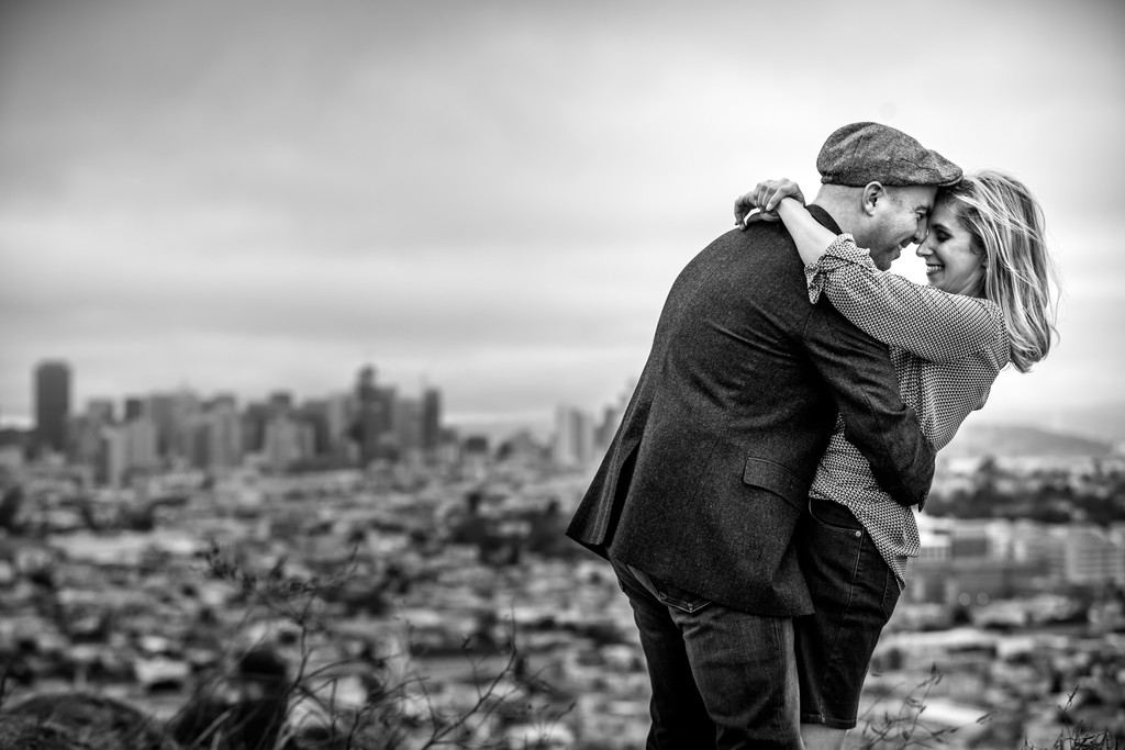 Engagement photographer in San Francisco California