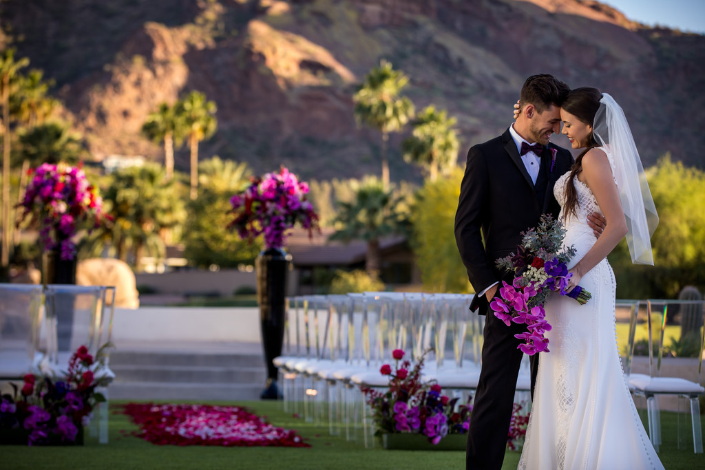 wedding at Mountain Shadows Paradise Valley Arizona