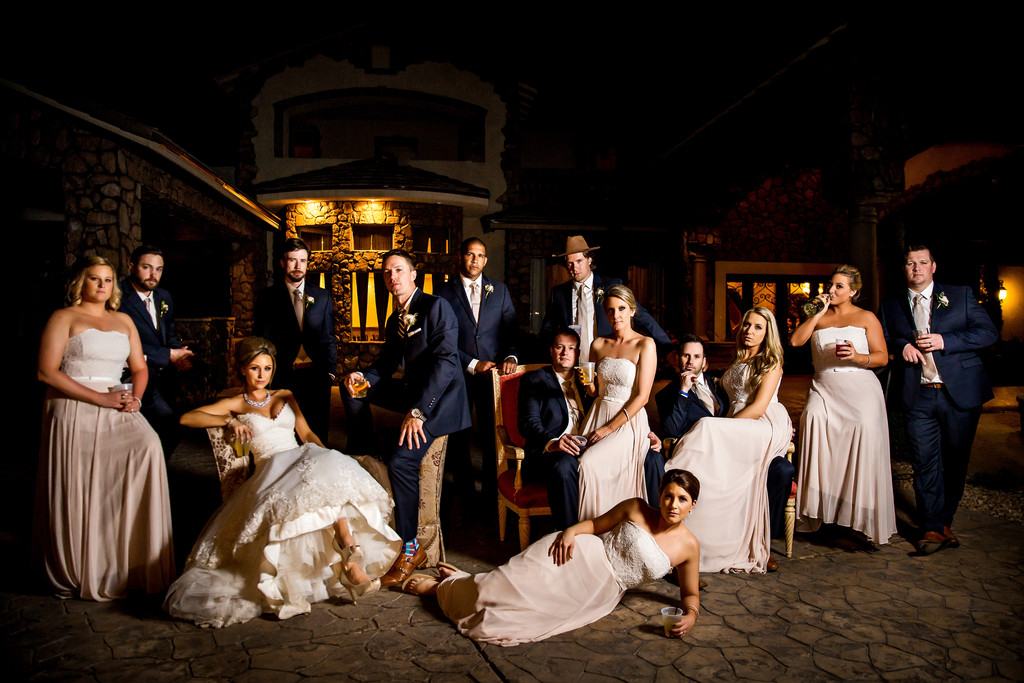 vanity fair bridal party photo Scottsdale