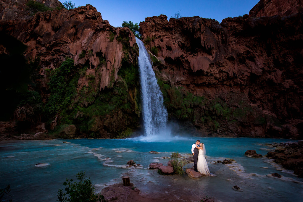 Grand Canyon wedding photography adventures