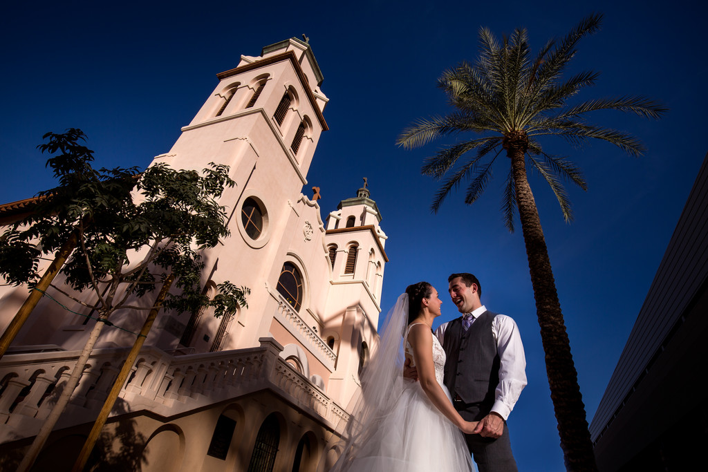 Downtown Phoenix Wedding Photographer - Ben & Kelly
