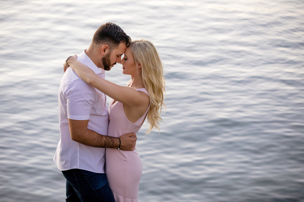 Romantic engagement photography in Phoenix
