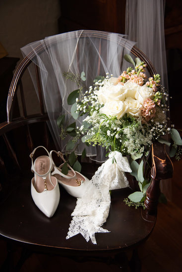 Wedding Details at Higgins House at WPI